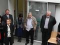 Na otvoritvi novih prostorov razvojne ambulante v Zdravstvenem domu Domžale, ki pokriva tudi območje občine Mengeš, je bil tudi Franc Jerič, župan Občine Mengeš (Vido Repanšek)