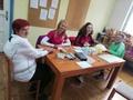 V torek in sredo so obiskovalci z zanimanjem izvedli analizo telesne mase, meritev holesterola, krvnega sladkorja in krvnega tlaka in testiranja telesne zmogljivosti z 2-minutnim testom stopanja