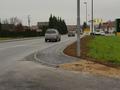 Z izgradnjo 60 m zahodnega pločnika na Kamniški cesti je zaključeno urejanje Kamniške ceste od naselja do bencinskega servisa družbe Petrol.